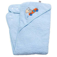 Clevamama Clevabear Apron Towel - Blue