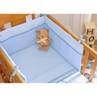 Izziwotnot 2 Piece Crib Set - Blue