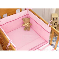 Izziwotnot 2 Piece Crib Set - Pink