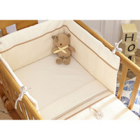 Izziwotnot 2 Piece Crib Set - Cream