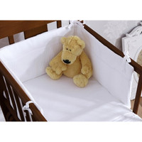 Izziwotnot 2 Piece Crib Set - White