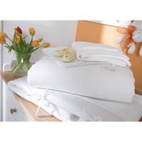 Izziwotnot Luxury 5 Piece Cot Bedding Bale - White
