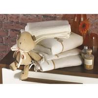 Izziwotnot Luxury 5 Piece Cot Bedding Bale - Cream