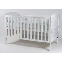 BR Baby Stockholm Cot Bed - White