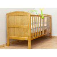 BR Baby Stockholm Cot Bed - Antique Pine