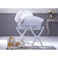 Izziwotnot Moses Basket Stand - White
