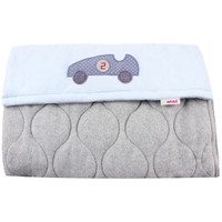 Cosy Footmuff Car - Blue/Grey