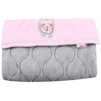 Cosy Footmuff Owl - Pink/Grey