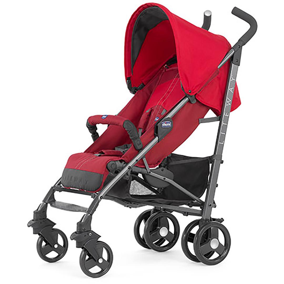 chicco liteway stroller red. Black Bedroom Furniture Sets. Home Design Ideas