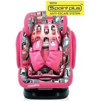 Cosatto Hug Isofix Group Car Seat - Kokeshi Smile