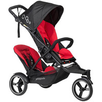 Phil & Teds Dot Buggy with Double Kit - Chilli