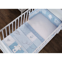 O Baby B is for Bear Bedding - Blue