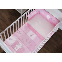 O Baby B is for Bear Bedding - Pink