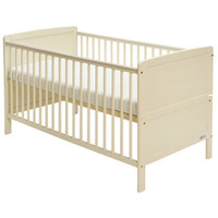 Baby Elegance Travis Cot Bed - Cream