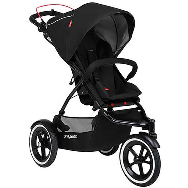 Phil & Teds Sport Buggy + FREE Double Kit - Black
