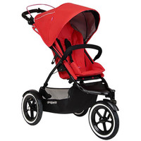 Phil & Teds Sport Buggy + FREE Double Kit - Cherry