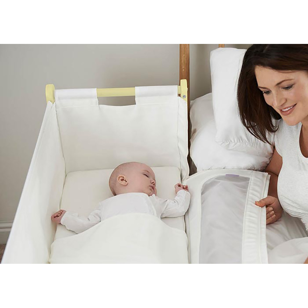SnuzPod2 Bedside Crib Including Mattress - Sherbert