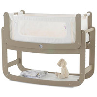 SnuzPod2 Bedside Crib Including Mattress - Putty