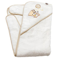 Clevamama ClevaBear Apron Towel - Cream