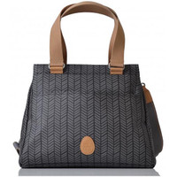 PacaPod Oban Changing Bag - Charcoal Herringbone