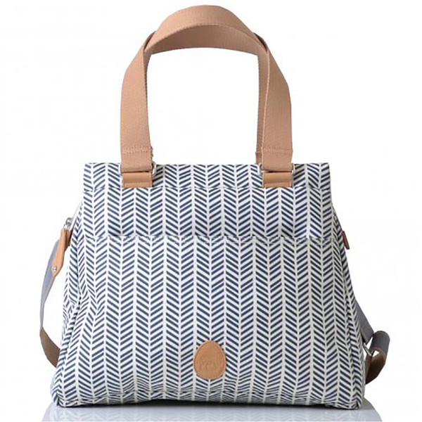 PacaPod Oban Changing Bag - Navy Herringbone