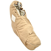Lodger Bunker Footmuff Scandinavian Fleece - Sand