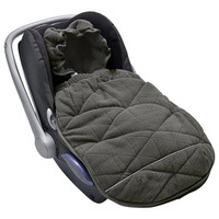 Lodger Mini Bunker Car Seat Footmuff - Coal