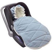 Lodger Mini Bunker Car Seat Footmuff - Steel Grey