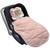 Lodger Mini Bunker Car Seat Footmuff - Blush