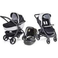 Chicco Trio StyleGo Travel System - Black Night
