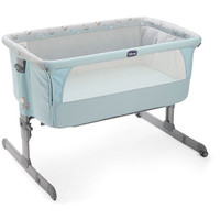 Chicco Next 2 Me Crib - Sky Blue