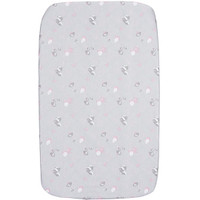 Chicco Crib Fitted Sheets 2 Pack - Princess Pink