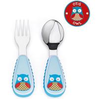 Skip*Hop Zootensils Fork & Spoon - Owl