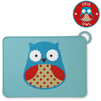 Skip*Hop Zoo Fold & Go Silicone Placemat - Owl