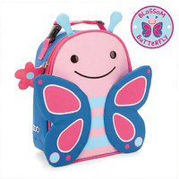 Skip*Hop Zoo Lunchie Insulated Kids Lunch Bag - Butterfly