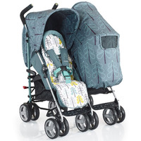 Cosatto To & Fro Duo Twin Stroller - Fjord