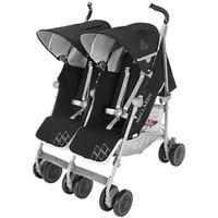 Maclaren Twin Techno Stroller - Black