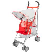 Maclaren VOLO Stroller - Silver/Marmalade