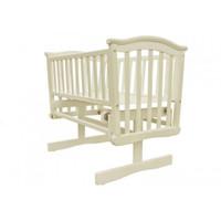 Baby Elegance Glider Crib + Mattress - Cream