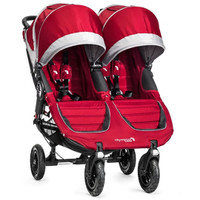 Baby Jogger City Mini GT Double - Crimson