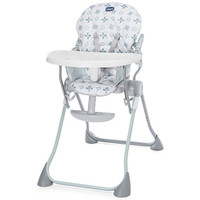 hicco Pocket Meal Highchair - Light Grey