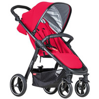 Phil & Teds Smart Buggy V3 Package Deal - Cherry