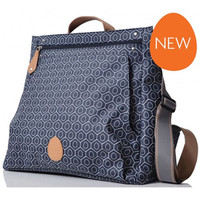PacaPod Lewis Changing Bag - Navy Tile