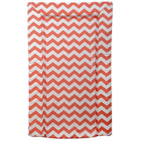 East Coast Chevron Changing Mat - Orange