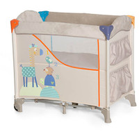 Hauck Sleep N Care Travel Cot - Animals