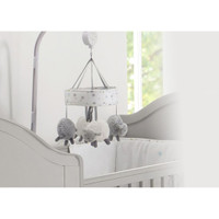 Silver Cloud Cot Mobile - Counting Sheep