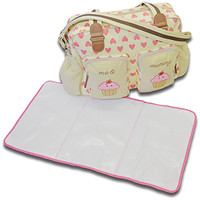 Cuddles Collection Cup Cake Changing Bag