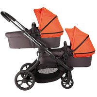 iCandy Orange Twin Pushchair and Carrycots- Flame