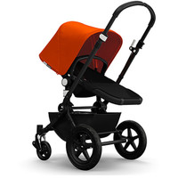Bugaboo Cameleon³ Pushchair + Base - Black Chassis - Orange