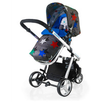 Cosatto WOOP Travel System - Grey Megastar
